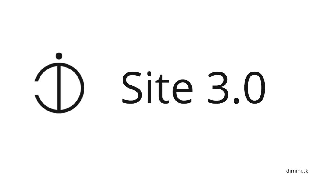 Site update 3.0