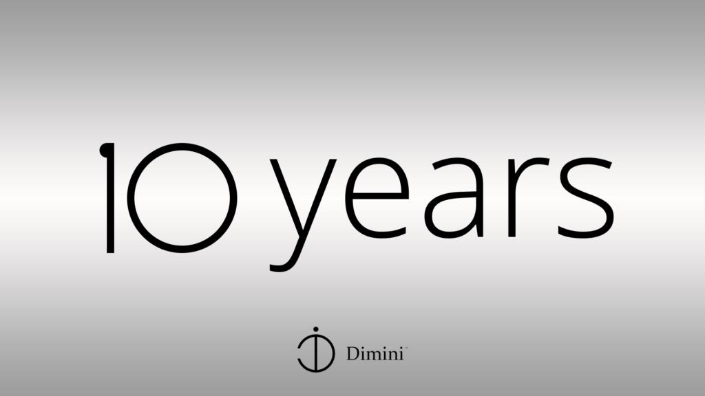 Dimini 10 years